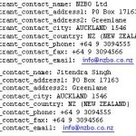 Whois for NZBO.co.nz